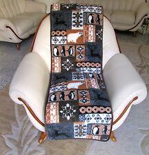 Sesselschoner Doppelseitig , Set 2 Stück 50x200 cm