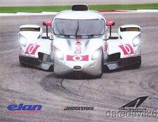 2013 DeltaWing Coupe Elan P1 ALMS postcard Katherine Legge