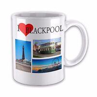 I Love BLACKPOOL Ceramic Novelty Gift Mug