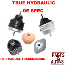 HYDRAULIC AUDI A4, VW PASSAT Manual Trans Mount and Motor Mount KIT LEFT&RIGHT