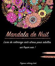 Livre de coloriage pour adulte : Mandala de Nuit — Pegasus Coloring Book