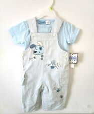 Little by Little - 2-Piece Overall Set - Baby Boy - 3 - 6 Months - NWT
