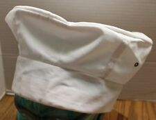 CHEF WORKS WHITE CHEFS HAT ADJUSTABLE EXCELLENT CONDITION