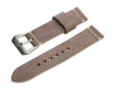 NIP SWISS REIMAGINED 20 mm Brown Wax Finish Genuine Leather Watch Band
