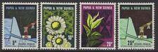 Papua Nuova Guinea SG113/6 1967 Hydro-Electric Scheme BENE USATO