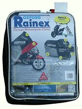 Oxford Rainex Deluxe Motorcycle Cover Rain & Dust Protection Small OF922