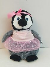 Stuffed Plush Animals Petting Zoo Plush Penguin Love Me Pink Tutu 12 Inches Tall