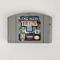 N64 The New Tetris (Nintendo 64) Cartridge only Authentic Tested Working 🔥