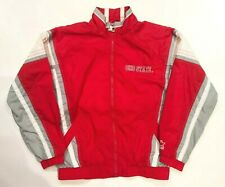 Vintage Starter Ohio State Buckeyes University Nylon Jacket Red M Medium VTG