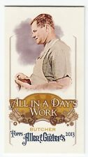 2013 Topps Allen & Ginter Mini Insert - All in a Day's Work - Butcher