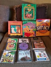 Large assortment of mid 90s games and software
