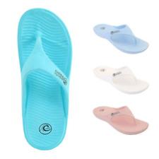 Women's Pacific Dreams Shower Flip Flops Poolside Slip On Sandals Beach Flip Flo