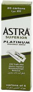 Astra Rasierklingen 100Er Pack