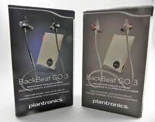 Plantronics Backbeat Go 3 Wireless Bluetooth In-Ear Headphones w/ Charging Case
