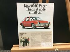 1975 AMC Pacer Salesman's Brochure