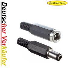 Steckerbuchse je mit knickschutz DC Hohlstecker 5,5x2,5mm 14mm kontakt