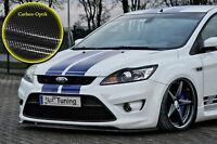 Spoilerschwert Frontspoiler ABS Ford Focus ST DA3 MK2 07-10 ABE Carbon Optik
