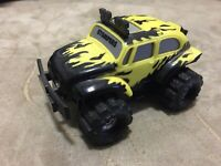 Vintage Stomper 4x4 Tinco Yellow Black flame VW Baja Bug 2 speed WORKS