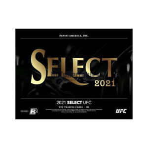 2021 PANINI SELECT UFC HOBBY HYBRID H2 SEALED PACK FROM AN UNSEARCHED BOX NEW!!!