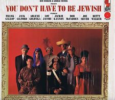 BOB BOOKER & GEORGE FOSTER You Don't Have to be Jewish LP Comedy Album EX Mono