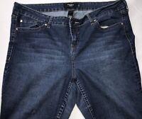 """Torrid Denim Jeans Size 22S Blue Med Wash 27"""" Inseam"""