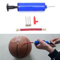 Plastikpumpen-Ball-Pumpen-Nadel-Ventil-Adapter-Satz für Basketball FootBCDE