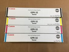 OEM Canon GPR-32 CMYK Full Toner Set iR Adv C9065 C9075 C9270 C9280 PRO