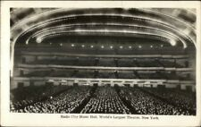 New York City Radio City Music Hall 1930s Real Photo Postcard
