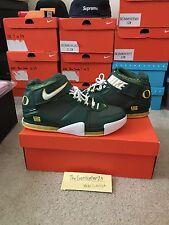 Nike Lebron II 2 Oregon Away PE Sample Size 11.5 D.S 100% Authentic