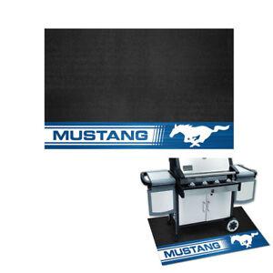 Original Ford Mustang Pony Logo Grill Mat Matte Gummi Vorleger Gummimatte Groß