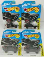 Hot Wheels 🔥 2017 '70 Dodge Charger Fast & Furious 🔥Experimotors Lot Of 4 Dom