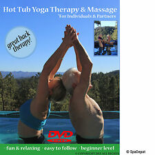 Hot Tub Yoga Therapy & Spa Massage - For Individuals & Partners - Dvd Video