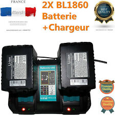 2X BL1860 18V Makita Batterie Double Chargeur DC18RA C 6.0Ah Li-ion LXT BL1830
