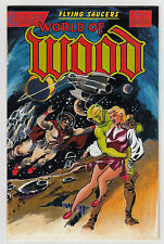 World of Wood 5 NM Flying Saucers Eclipse Comics Book Painted Cover Wally Wood