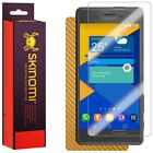 Skinomi Gold Carbon Fiber Skin & Screen Protector for Sony Xperia X Performance