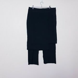 Taking shape TS Womens Plus Size 14 Black Skirt Pants