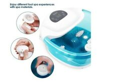 Maxkare Foot Spa Foot Bath Massager With Heat And Massage Vibration Bubbles