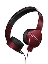 Sol Republic Tracks HD2 On-Ear Headphone Mic & 3 Button Controller - Red