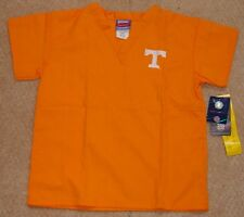 GelScrubs Youth Unisex V neck Scrub Top University of Tennessee Sz Large (9-12)