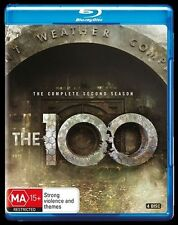 The 100 : Season 2 (Blu-ray, 2016, 4-Disc Set)