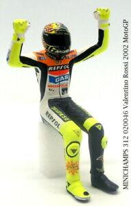 MINICHAMPS 312 020046 Valentino Rossi 2002 MotoGP Figurine 1:12