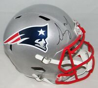 SONY MICHEL SIGNED AUTOGRAPHED NEW ENGLAND PATRIOTS FULL SIZE SPEED HELMET JSA