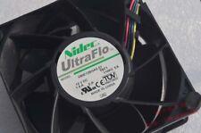NIDEC V80E12BGA5-57 12V 1.4A 4Pin 80x80x38mm High Speed Ball Bearing Case Fan