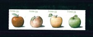 US Scott # 4731 - 4734 / 2013 Apples Coil Strip of 4 Issue