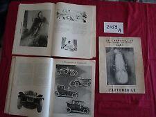 N°2059 A /  le CRAPOUILLOT n° spécial du salon de l'automobile 1931