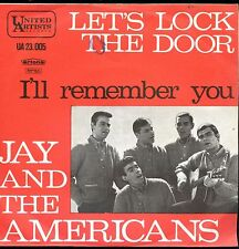 7inch JAY AND THE AMERICANS let's lock the door HOLLAND EX+  +PS