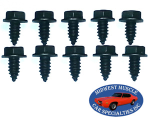 GM NOS Body Fender Grille Factory Correct 5/16-12 Bolts Threaded Point 10pcs S