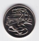 1997 20 Twenty Cent UNC Uncirculated Coin ex Mint Set Australia