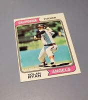 1974 Topps Nolan Ryan California Angels Major League Baseball Card MLB
