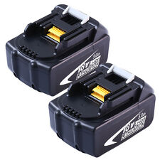 18V 5.0A for Makita Replacement Battery Lithium-Ion BL1830 BL1815 BL1850 2-Pack